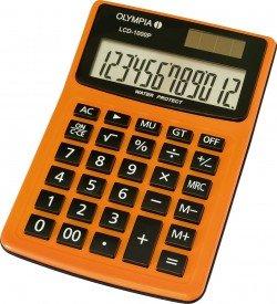 Olympia LCD-1000 P - anzeigender Tischrechner - 12-stelliges LCD - Staub- und Spritzwasserschutz