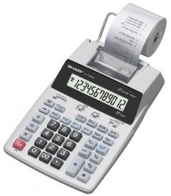 Sharp EL-1750 P III - druckender Tischrechner - 12-stelliges LCD - Batterie - 2-Farbdruck - TAX