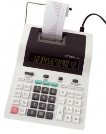 Citizen CX-185 N druckender Tischrechner, 12st. grünes Display, Bus.+Tax, 2farb Druck, 220V/Margin
